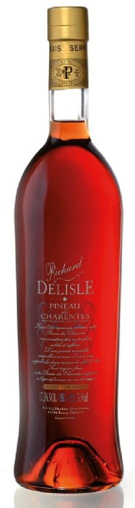 PINEAU DES CHARENTES ROSE R. DELISLE 75 CL