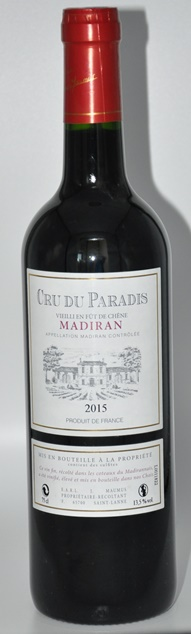 CRU DU PARADIS TRADITION 2015