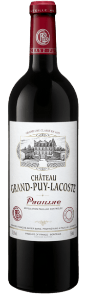 CHATEAU GRAND PUY LACOSTE, 2012